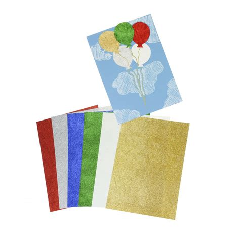 glitter paper for card a4 glitter paper 12 pack card paper from crafty