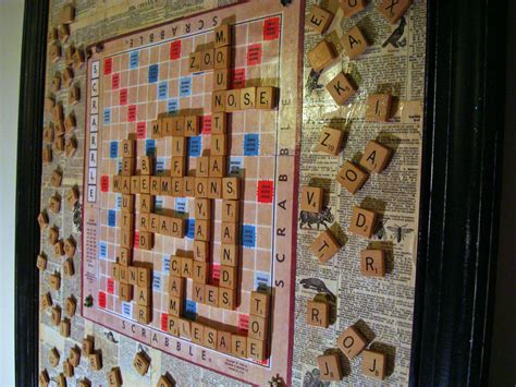 magnetic scrabble board for wall how to make a scrabble magnet message board the
