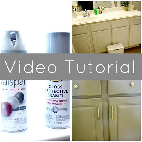 spray paint tutorial tutorial how to spray paint cabinets