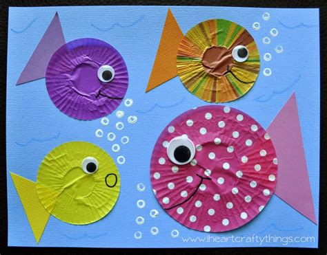 fish craft for fish craft out of cupcake liners cupcake liners