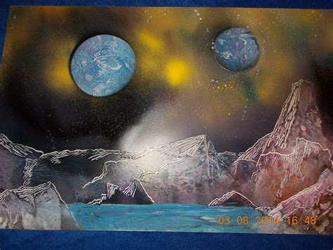 spray paint tutorial space 78 best images about spray paint techniques paintings on
