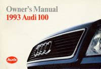 auto repair manual free download 1992 audi 100 security system audi owner s manual 100 1992 1993 bentley publishers repair manuals and automotive books