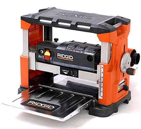 rigid woodworking tools tool review woodworking benchtop planers here s what we
