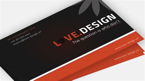 make business card 50 best free psd business card templates