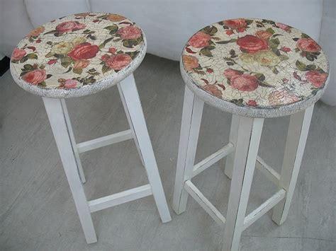 decoupage stool decoupage stools ideas diy