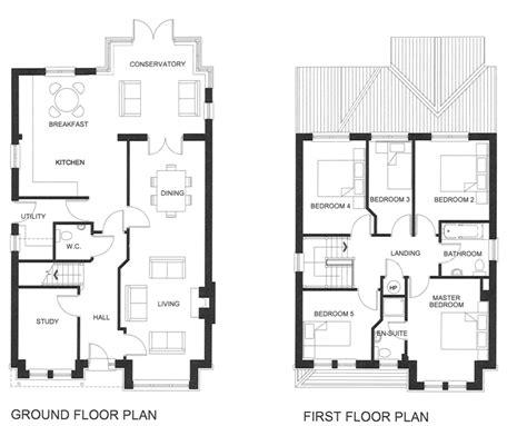 5 bedroom house floor plans 2 storey 5 bedroom house plans homes floor plans