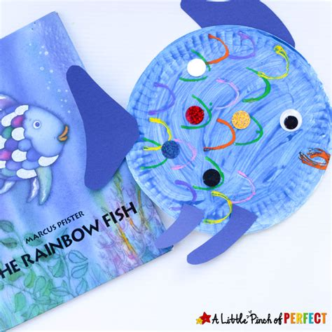 paper plate fish craft paper plate fish craft inspired by the rainbow fish