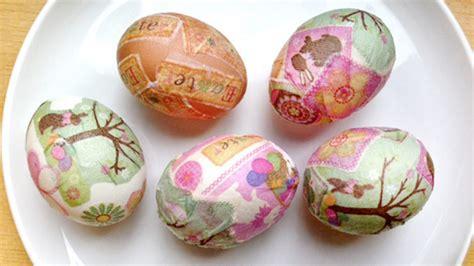 decoupage easter eggs decoupage easter eggs grandparents