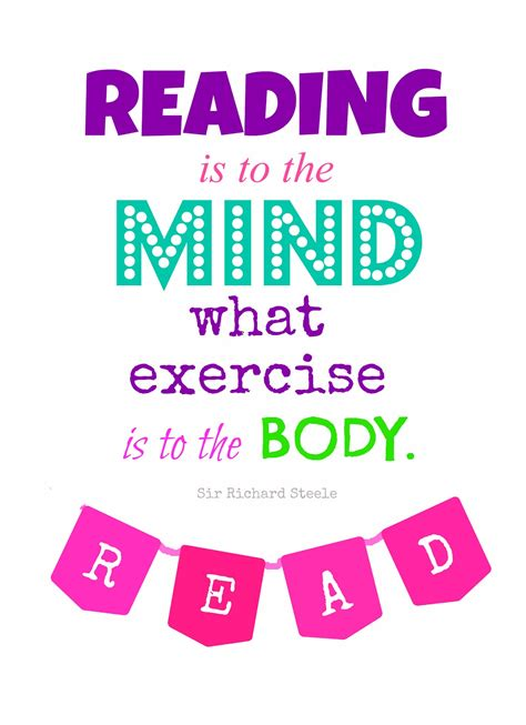 read one reading quote printable busy happy