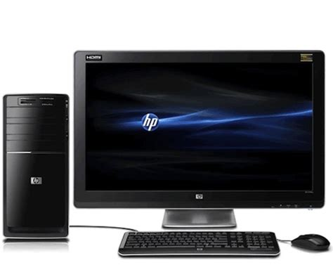 desk top computer price hp pavilion p6655d desktop computer price and features