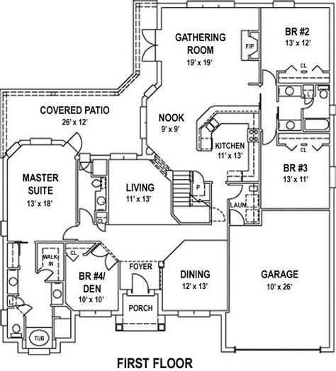 open floor house plans large open floor plan house plan alp 099d