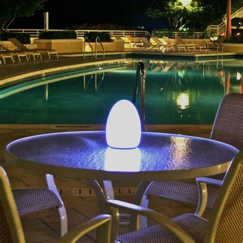 patio table lighting java outdoor patio table l 34 215 3