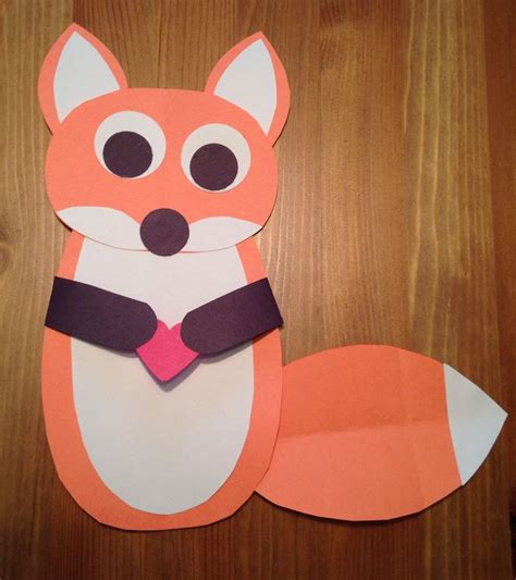 fox crafts for fox craft fox and the hound craft disney