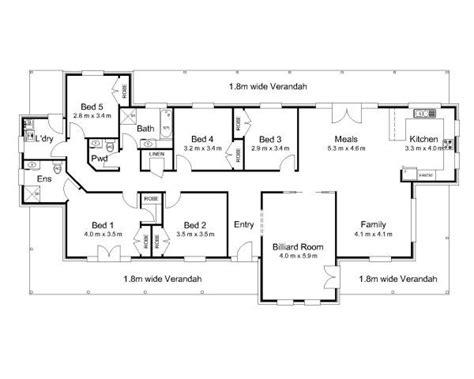 5 bedroom floor plans australia 25 best ideas about australian house plans on