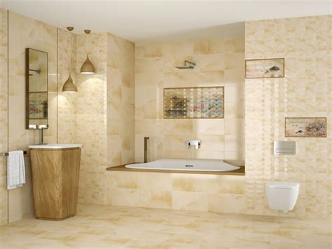salle de bain travertin le chic noble de la naturelle