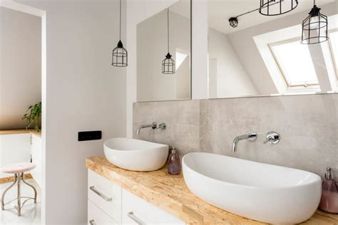 bathroom looks how to make a small bathroom look bigger reader s digest