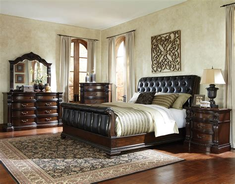 sleigh bedroom furniture sets churchill sleigh bedroom set bedroom furniture sets