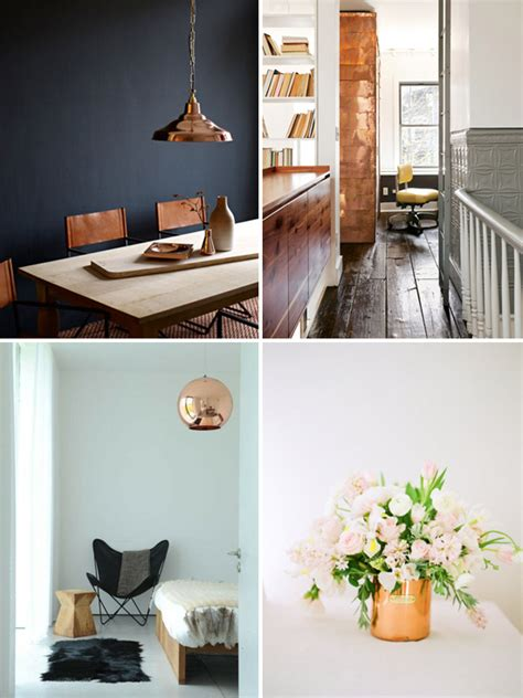 copper decorations 24 home d 233 cor ideas with copper digsdigs