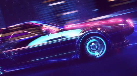 80s Car Wallpaper by Retrowave