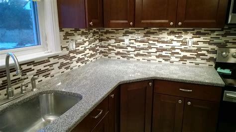 kitchen backsplash mosaic tile glass mosaic backsplash sjm tile and masonry