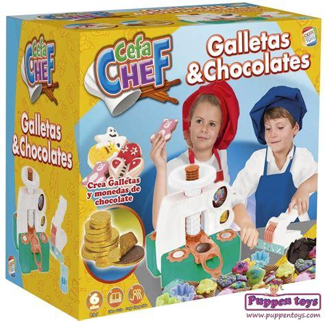 juegos de cocinar chocolates cocina galletas chocolates cefa chef juguetes puppen toys