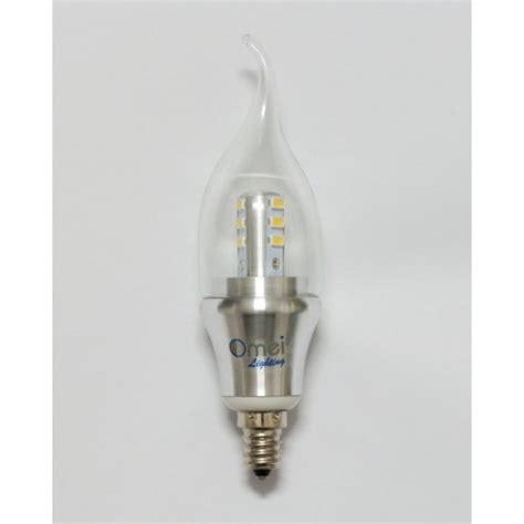led light bulbs candelabra base 60w dimmable 6 pack omailighting e12 6w led e12 candelabra