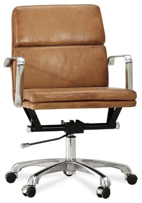 leather swivel office chair nash leather swivel desk chair modern office chairs