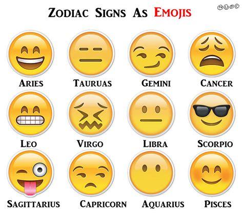 zodiac signs which emoji matches my zodiac sign popsugar tech