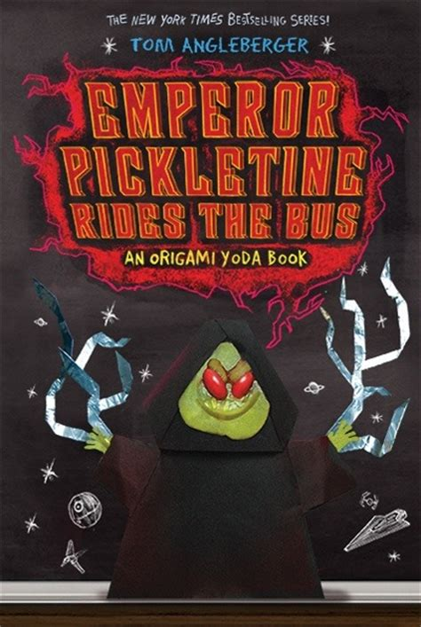the origami yoda series talk to tom week of april 15 the rise of pickletine