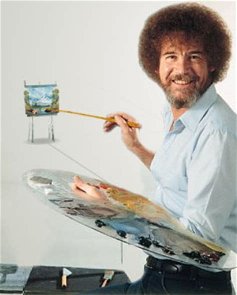 bob ross painting faces bob ross painter of distance by on deviantart