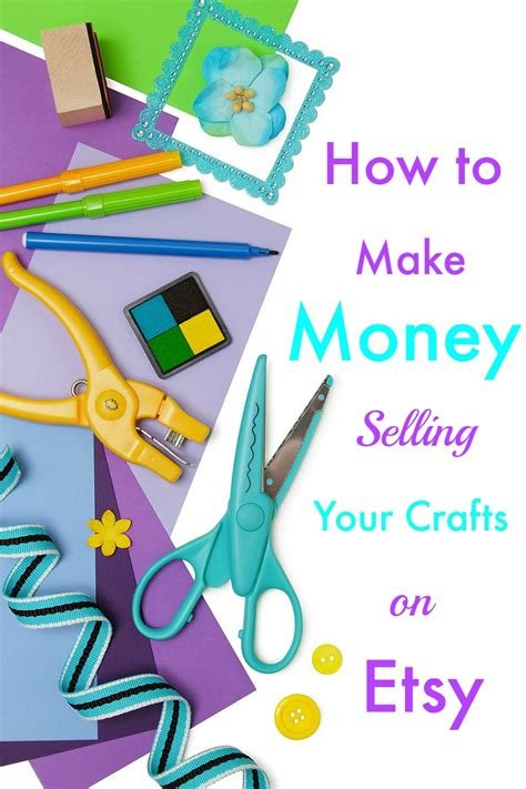 etsy crafts how to make money selling your crafts on etsy
