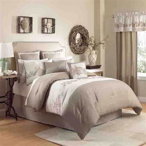 beige and white bedding products for creating warm and