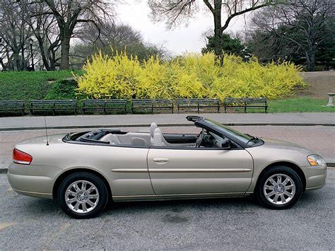 Chrysler Convertibles by Chrysler Sebring Convertible Specs Photos 2003 2004