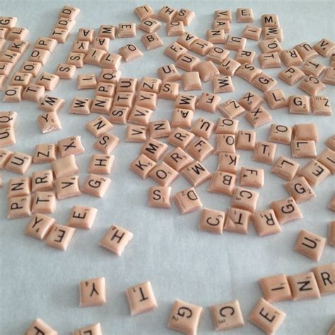 scrabble tips and tools fondant scrabble tiles cakes by acw