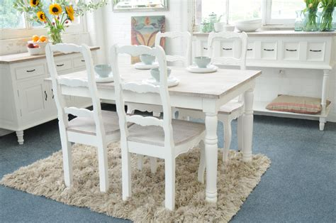 shabby chic dining tables and chairs painted shabby chic kitchen dining table set with 4