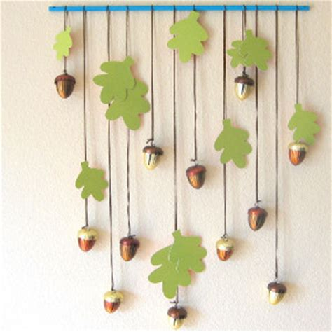 hanging paper crafts leafy greens wall hanging allfreepapercrafts