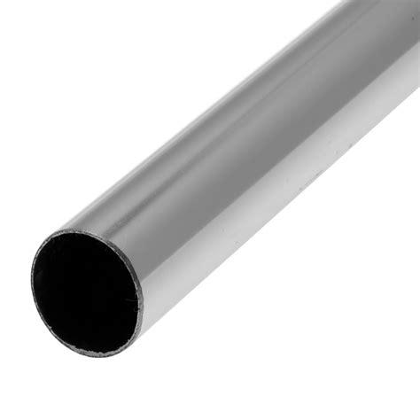 barre de penderie d25 mm ronde chrom 233 2 5 m leroy merlin
