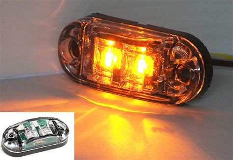 clearance lights trailer mini led marker clearance replacement lights