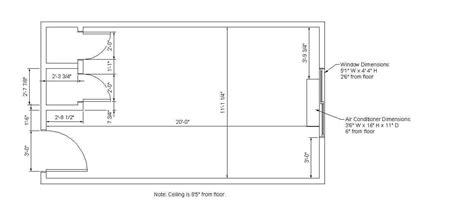 room measurements prairie view room dimensions residences