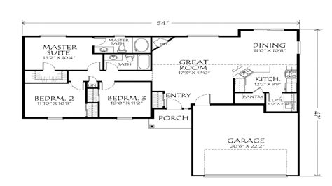 open one story house plans best one story floor plans single story open floor plans floor plans for one story houses