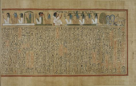 pictures of the book of the dead file book of the dead of hunefer sheet 8 jpg