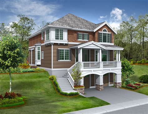 house plans for sloping lots house plans for narrow sloping lots home design and style