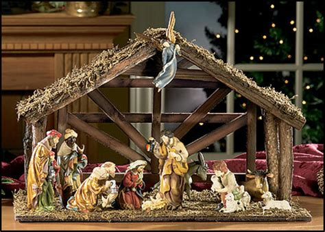 indoor nativity set with stable nativity sets search results calendar 2015