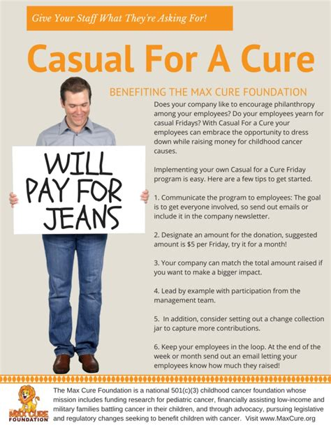 dress for a casual for a cure max cure foundation
