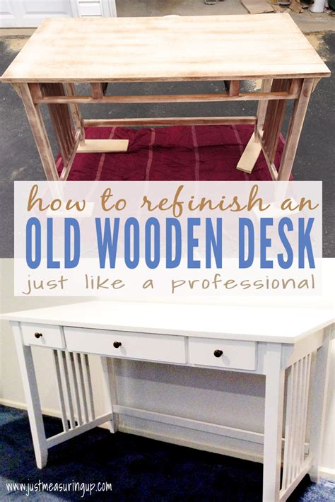 spray painting unfinished wood furniture painting a desk white whitevan