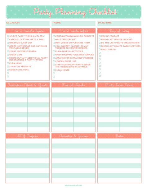 planning checklist ruff draft free printable planning checklist
