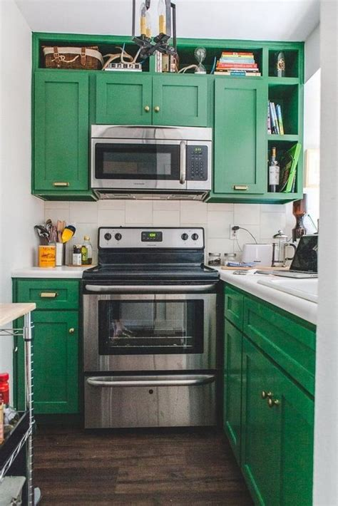 green painted kitchen cabinets 80 cool kitchen cabinet paint color ideas noted list