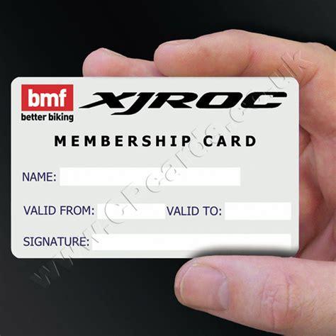 how to make a membership card membership cards