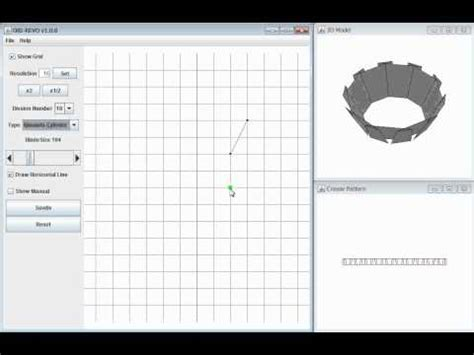 origami design tool demo of the ori revo a design tool for 3d origami of