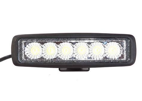 6 inch led light low profile led 6 inch 18 watt tuff led lights